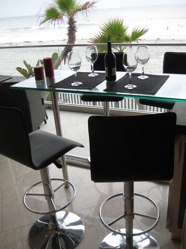 The Euro Style Bar Seating