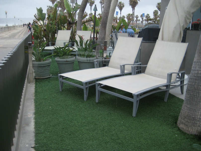 Ground Level Patio